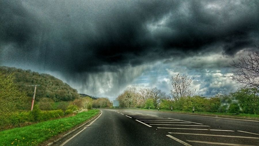 Bank holiday weather... Wales❤ Wales You Beauty A483 Rainy Days Rainy Day Hail Storm Rain And Hail Stormy Weather Stormy Sky Light In The Darkness Head For The Light Hdr Edit Sony Xperia Z3 Week On Eyeem r