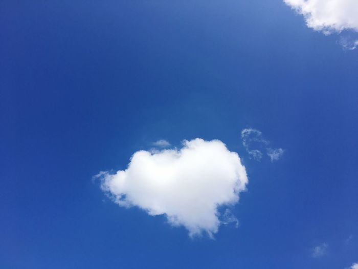 Blue Sky Cloud - Sky Nature Beauty In Nature Sky Only Low Angle View Outdoors Day No People Scenics