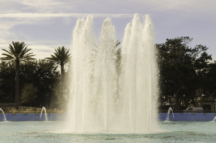 Beauty In Nature Day Fountain Fountain Fountain Collections Fountain In The Park Fountains Nature Outdoors Scenics Splashing Spraying Travel Destinations Tree Water Water Park