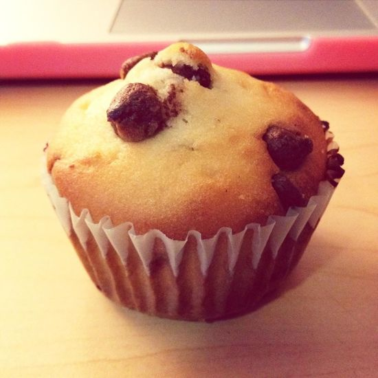 Chocolate chip muffin! Homemade Treats