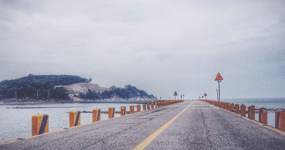On The Road Ansan Sea And Sky Sea View