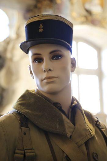 Soldier Mannequin At Museum