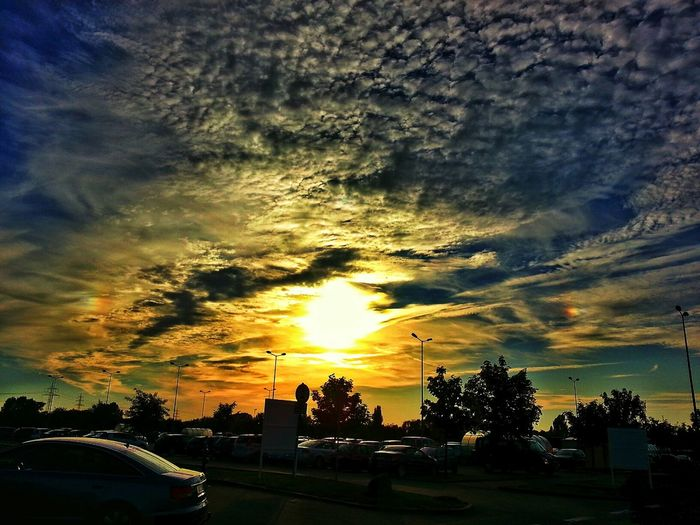 Sunset #sun #clouds #skylovers #sky #nature #beautifulinnature #naturalbeauty #photography #landscape EyeEm Best Shots Beautiful Day Clouds And Sky