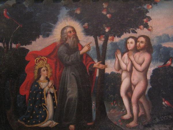 Archival Arequipa Arequipa - Peru Monastary Monasterio De Santa Catalina Painting People Religion Spirituality