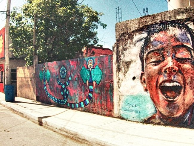 Streetart/graffiti Street Life Mexico Travel Photography Capture The Moment Snapshots Visionphotography Art