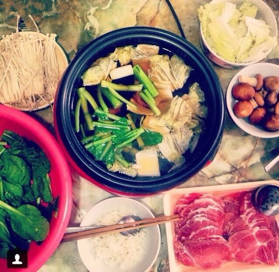 Homecooked Shabu Shabu Shabu Shabu Japan Sukiyaki Eating