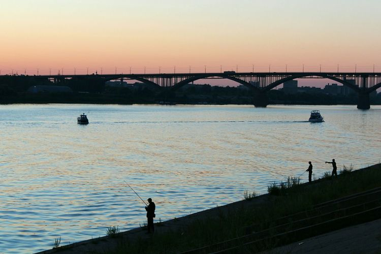 Streetphotography Street Photography Sunset Sunset Silhouettes River River View Bridge