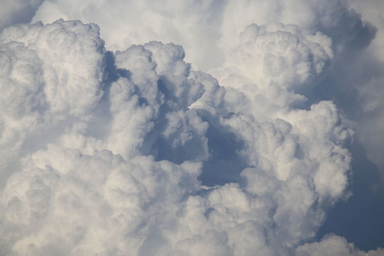 Beauty In Nature Cloud - Sky Cloudscape Cumulus Cumulus Cloud Day Environment Fluffy Full Frame Heaven Majestic Meteorology Nature Scenics Sky Sky Only Softness Tranquility White White Color