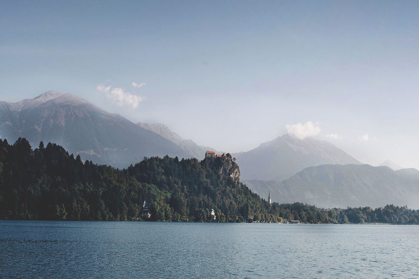 Beauty Bled Europe Forrest Hill Hills Lake Lake Bled Lake View Landscape Mountain Mountain Range Nature Nature Panorama River Scenics Slovenia Tranquil Scene Travel Valley Water Waterfront WoodLand Woods