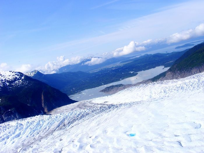 Hanging Out Enjoying Life Check This Out Taking Photos Great Day  Showcase: December Alaskanadventures Alaska Landing Helicopter Helicopter View  Beautiful Nature Glaciers Mountains Adrenaline Junkie My Best Photo 2015 Photos By Jeanette Landscape With Whitewall Blue Wave Lost In The Landscape