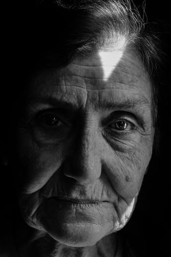 Adult Adults Only Black Background Close-up Day Evil Eyebrow Headshot Human Body Part Human Eye Human Face Human Hand Indoors  Looking At Camera Mature Adult Mature Men Men One Man Only One Person Only Men People Portrait Real People Studio Shot This Is Aging The Portraitist - 2018 EyeEm Awards