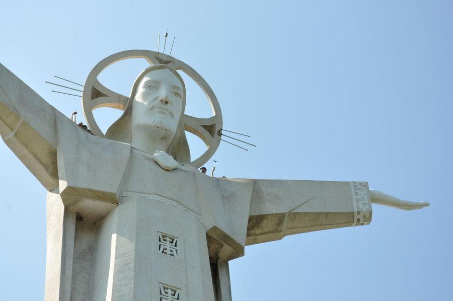 Big Jesus Christ Of Vung Tau Christ The King Giant Mount Nho Vung Tau, Viet Nam Vung Táu, Vietnam Vungtau Vietnam Open Arms To The World Arms Outstretched Armswideopen Jesus Statue Christ Statue