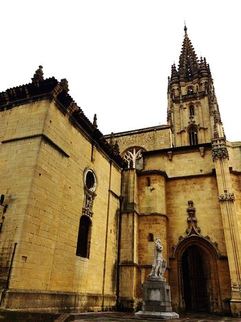 Oviedo, Asturias, Spain Building Exterior Built Structure Religion Architecture No People Spirituality Architecture Sculpture Statue Spirituality Cultures