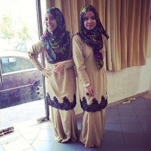 Bridesmaid galok Haliqdiaz @noor_alhameed