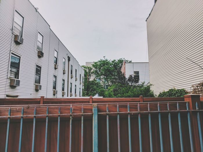 The Architect - 2017 EyeEm Awards Williamsburg Brooklyn Modern Building Exterior Architecture Built Structure City Outdoors Day No People Cityscape Sky Buildings Tree Freshness NYC Fence White Vscocam VSCO Newyork House Apartment Urban
