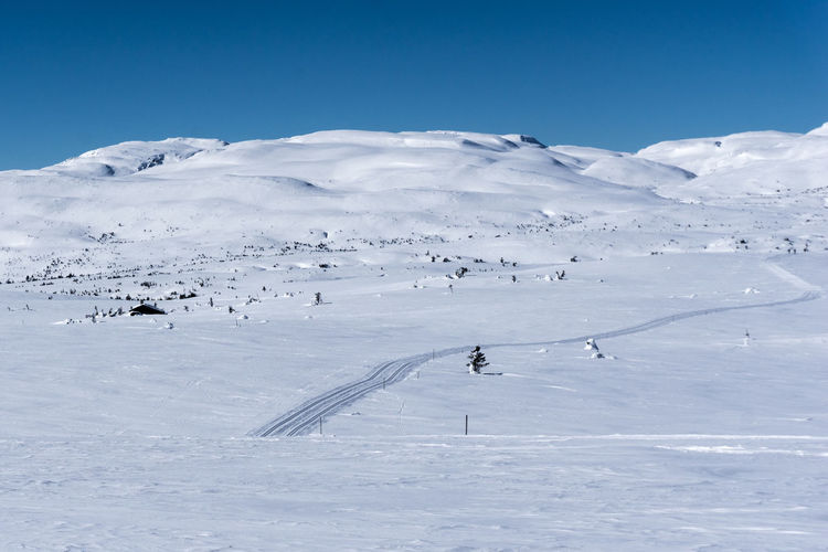 Beauty In Nature Cold Temperature Covering Day Environment Idyllic Land Landscape Mountain Nature No People Non-urban Scene Outdoors Scenics - Nature Ski Slope Sky Snow Snowcapped Mountain Tranquil Scene Tranquility White Color Winter