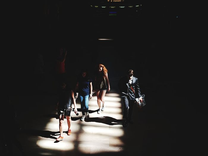 EyeEm Selects Full Length Young Adult Adult Adults Only Arts Culture And Entertainment Indoors  People Young Women Togetherness Sitting Actor Day Politics And Government New York Grand Central Station USA The Week On EyeEm