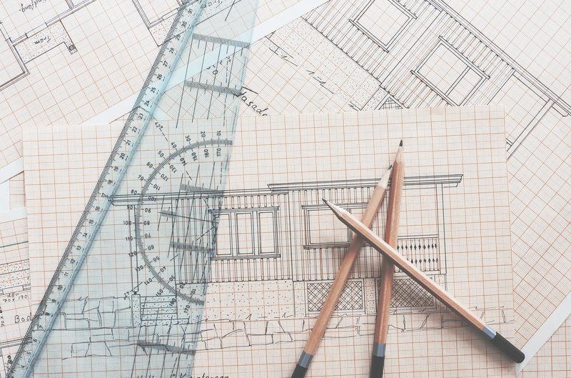 Pencils, ruler