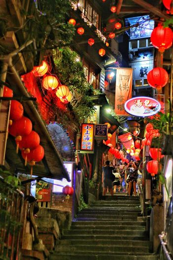 Jiufen Old Street, Taiwan Jiufen 神隐少女