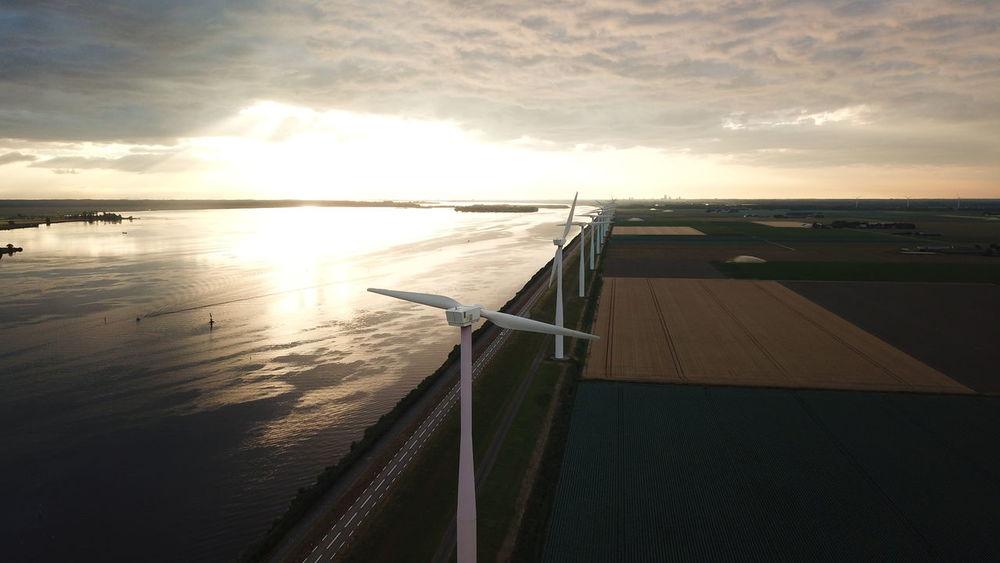 Cloud - Sky Environment Renewable Energy Sky Sunlight Sunset Water