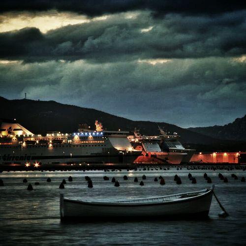 Landscape Sea Goodnight Sardegna