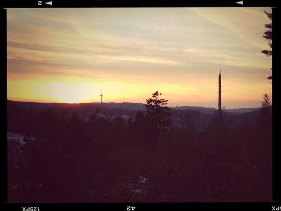 Ein toller Blick übers Bergische Land nach einer 3 stündigen Wanderung...der Abstieg stand uns da aber noch bevor...;-)