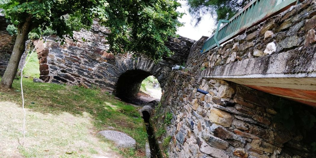 Bridge in Onor 3 Bridge Bridge - Man Made Structure Medieval Medieval Architecture Engineering Tree Architecture Built Structure Building Exterior Creeper Deterioration Damaged Footbridge Arch Bridge Weathered