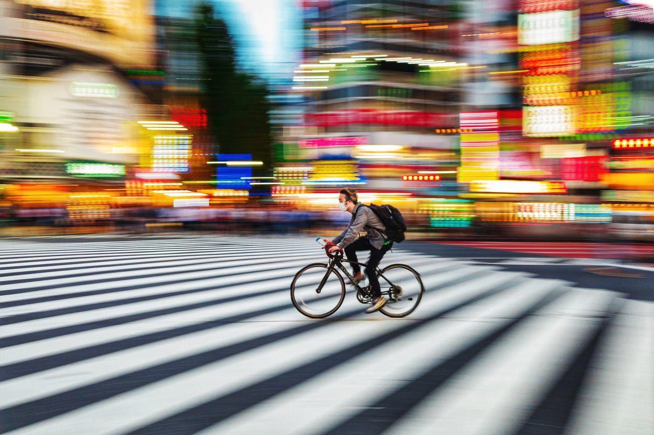 transportation, motion, blurred motion, mode of transportation, city