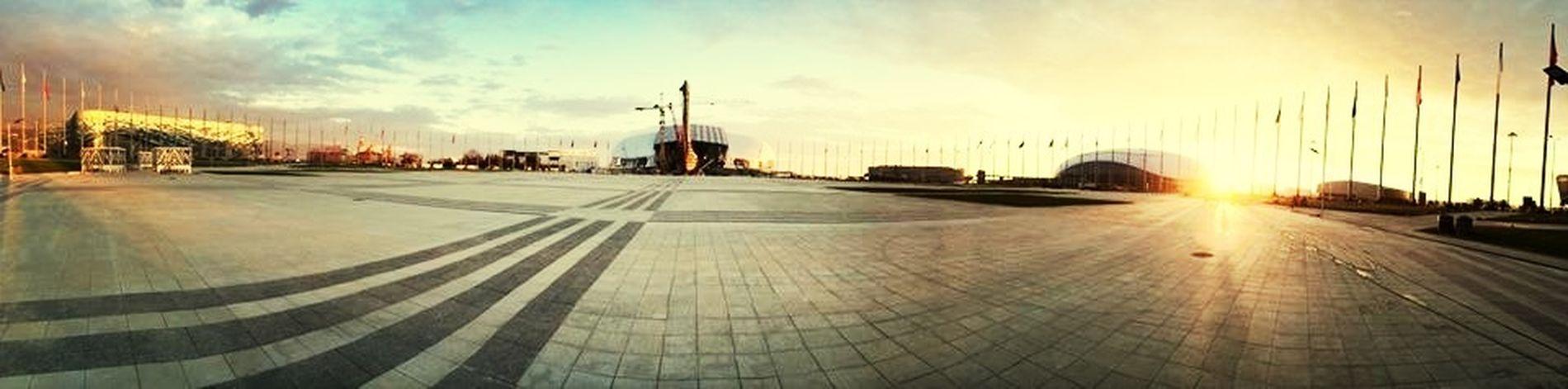 Sochi Sochi Architecture Sunset