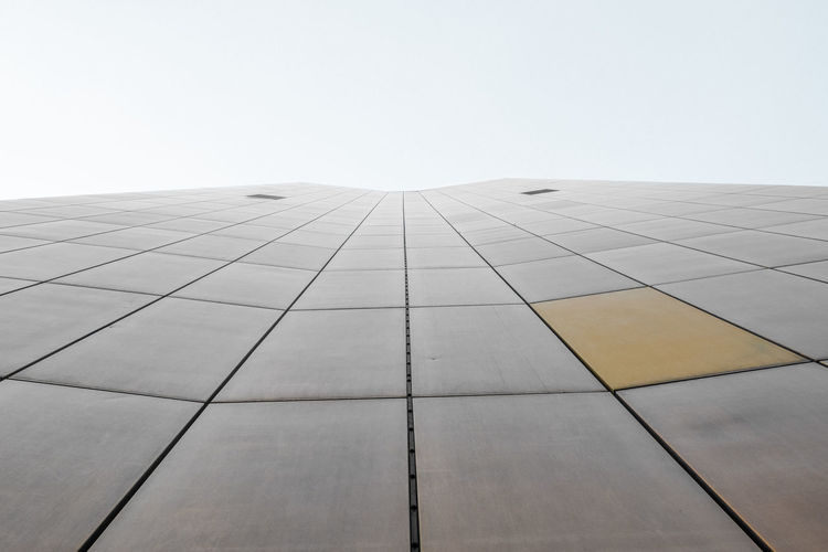 - A = ARCHITECTURE - Berlin Photography Check This Out Modern Architecture The Architect - 2018 EyeEm Awards Architecture Building Building Exterior Built Structure City Clear Sky Day Directly Below Modern No People Office Office Building Exterior Outdoors Pattern Sky Skyscraper Sunlight Tall - High