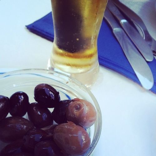 The good life. Lunch Alentejo Portugal Beer