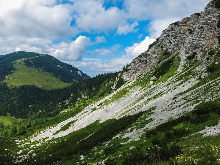 Hiking trail on