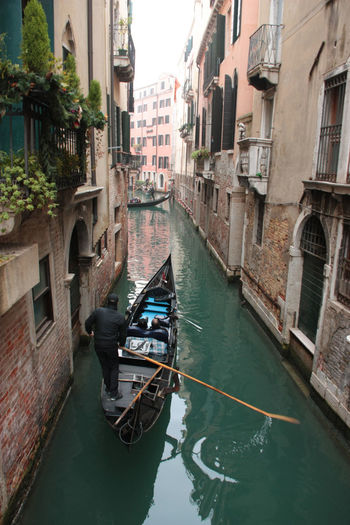 Architecture Building Exterior Built Structure Canal City Day Destination Scenics Gondola Gondola - Traditional Boat Gondolier Italy Nautical Vessel No People Outdoors Side Canal Tourism Transportation Travel Travel Destinations Venice Water EyeEmNewHere The Week On EyeEm An Eye For Travel