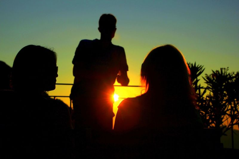 Sunset Silhouettes Live For The Story Telling Stories Differently Colour Of Life Enjoy The New Normal