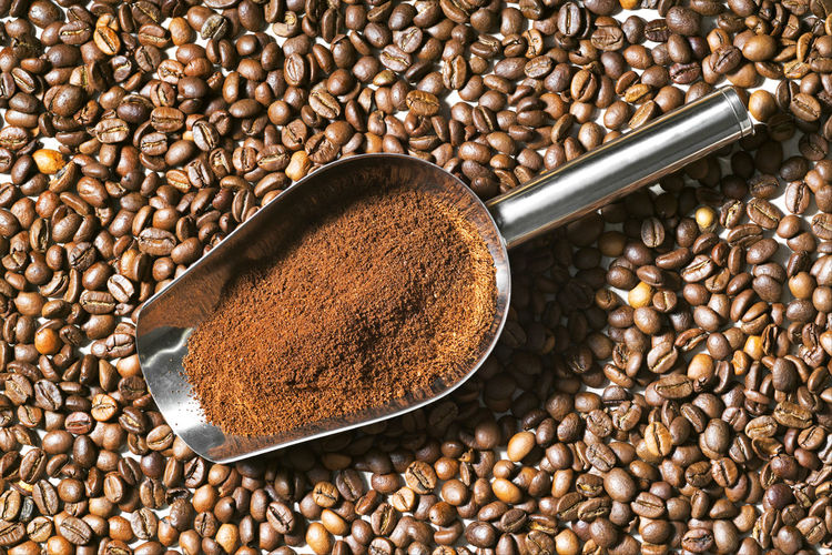 coffee beans grains and ground coffee Agriculture Beans Coffee Coffee Grains Coffee Time Colombia Colombia Coffee Bean Cafe Café Molido Close-up Coffee - Drink Coffee Bean Coffee Beans Coffee Cup Coffee Grounds Drink Food And Drink Granos De Cafe