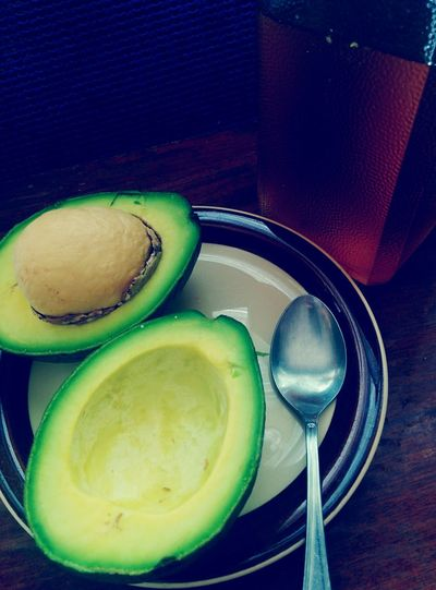 Food Photography Snack Fruit Avocado And Honey Avocado Snack Time