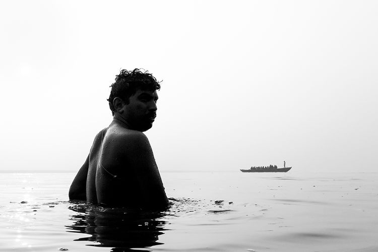 Varanasi, India, 2013 Ganges India People River Street Street Photography Streetphoto_bw Varanasi Varanasi, India Ganges, Indian Lifestyle And Culture, Bathing In The Ganges, Water