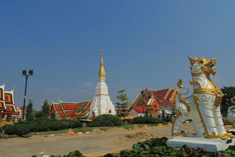 Pratatcherngchum Temple. Pagoda Pratatcherngchum, Sakonnakorn SakonNakhon ,Thailand Stupa Temple Thai Temple Thailand Tower First Eyeem Photo