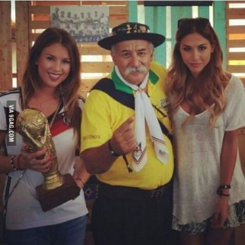 I don't think he's sad anymore Respect Massiverespect Like Germany