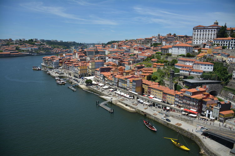 City Cityscape Nautical Vessel Cityscape Outdoors City Travel Destinations Architecture Day Water Porto Portugal 🇵🇹 Portugal Porto Cityscape City Architecture Roof High Angle View Building Exterior Landscape River View Douro  Douro River Portugal Residential District River TOWNSCAPE