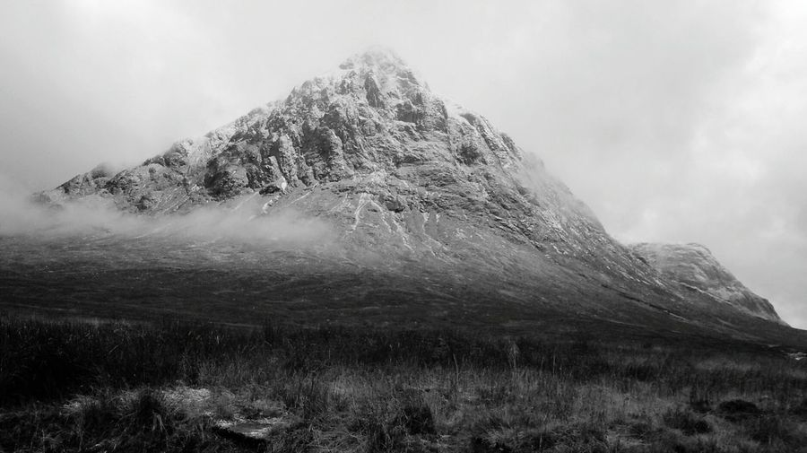 Glencoe with snow Landscape Mountain Beauty In Nature BYOPaper!