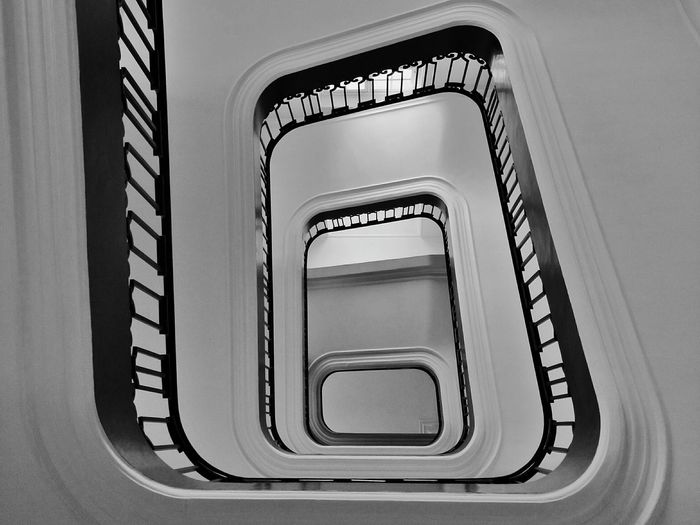 Your Design Story Stairs Staircase From My Point Of View From Below Perspective Banister Handrail  Paris, France  The 00 Mission The OO Mission Fine Art Photography Interior Style Minimalist Architecture