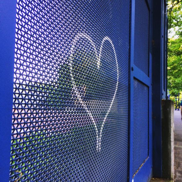 Finding random hearts around town part 2 Hearts Graffiti Wallart Pdx Portland, OR Pdxlove Heart Love Blue Color Blue Wall A Child's Perspective