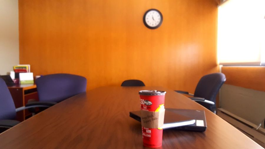 There is always time for coffee Focus Coffee Clock City Chair