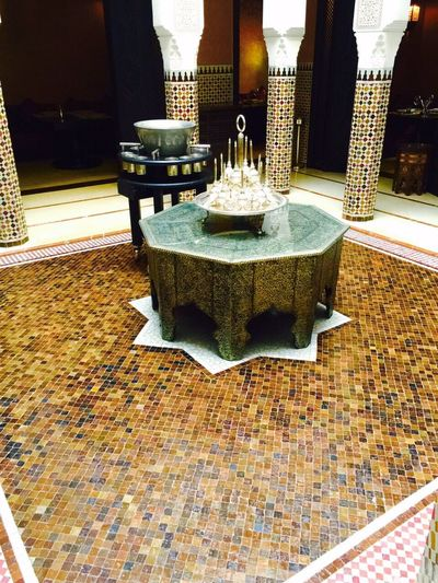 Mosaic tile work Architectural Detail
