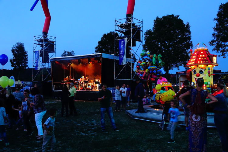 Illuminated Clear Sky Decoration Outdoors Large Group Of Objects Festival Festive Season Festivals Ballonfestival Ballonfest Bad Dürheim 2016 Stage Show Stageshot Stagephotography
