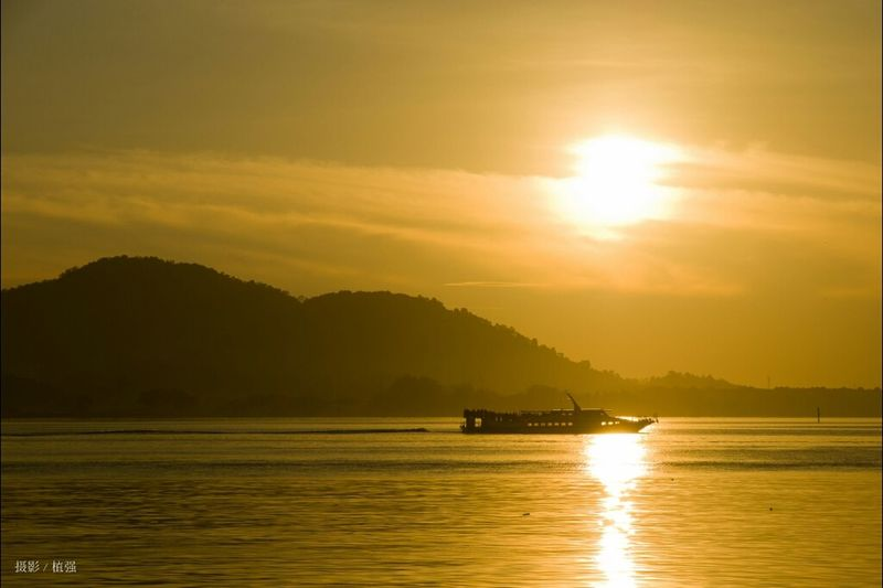 Nature Sunrise Malaysia Pangkor