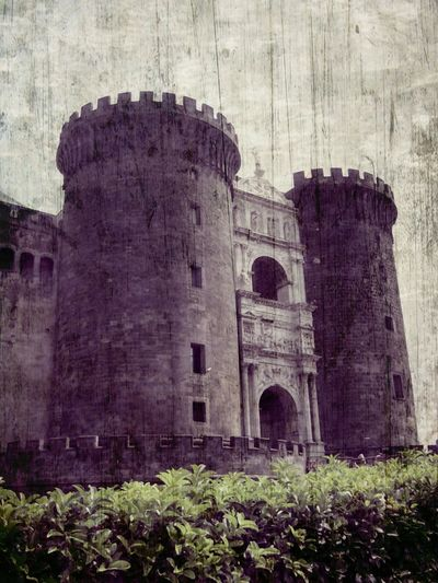 Naples Angioino Architecture Travel Photography Castles