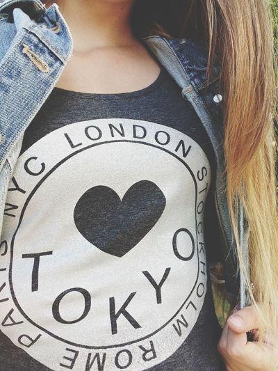 Wiee Tokyo Shirt Summer Taking Photos