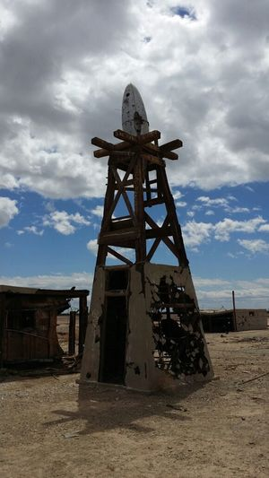 the Forbidden Tower near Bombay Beach, Salton Sea, CA